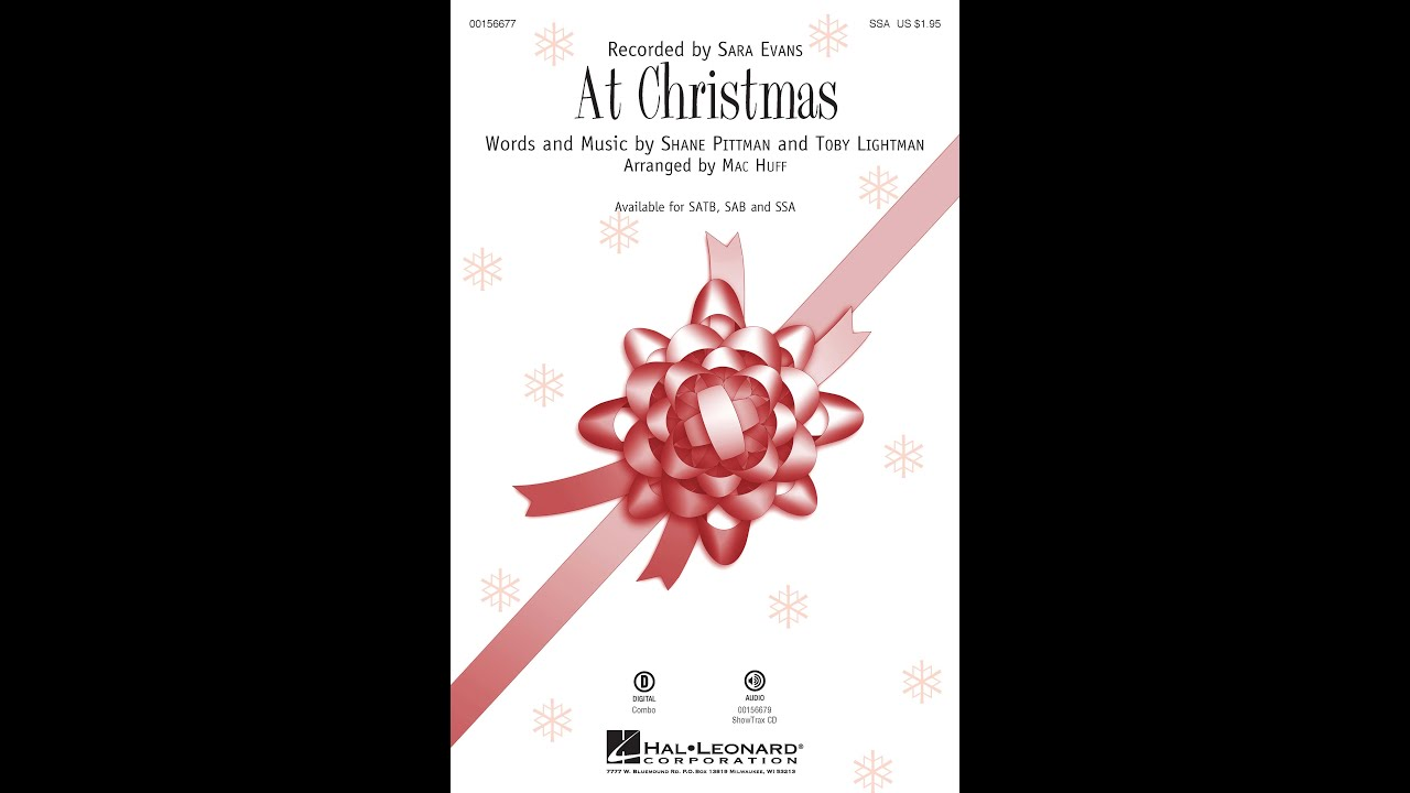 At Christmas (SSA) - Arranged by Mac Huff - YouTube