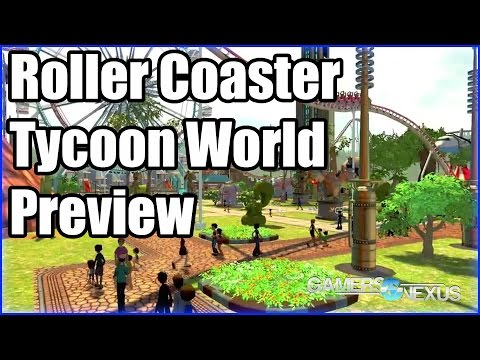 Rollercoaster Tycoon World: Interview with Gameplay