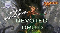 Combo Breakdown: Devoted Druid (MTG Combos Explained)