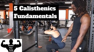 Gambar cover Calisthenics Fundamentals featuring Famba_official