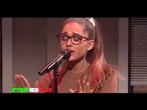 Ariana Grande   SNL LIVE 2016 Vocal Impressions   RIHANNA, SHAKIRA, CELINE DION, BRITNEY SPEARS