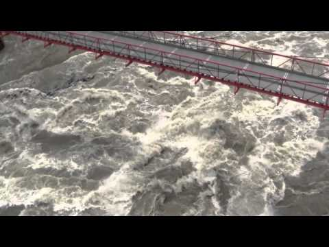 Flood Watch 2012 - Fraser River Canyon at Hell's Gate Airtram - Water Depth 190ft.