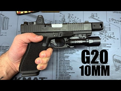 10mm Glock 20 Roland Special - ATEi, KKM, RMR, etc