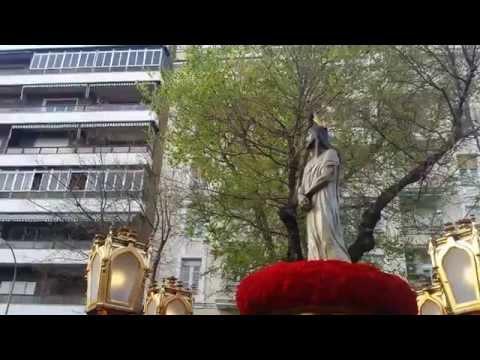 Procesión Divino Cautivo Madrid 2015