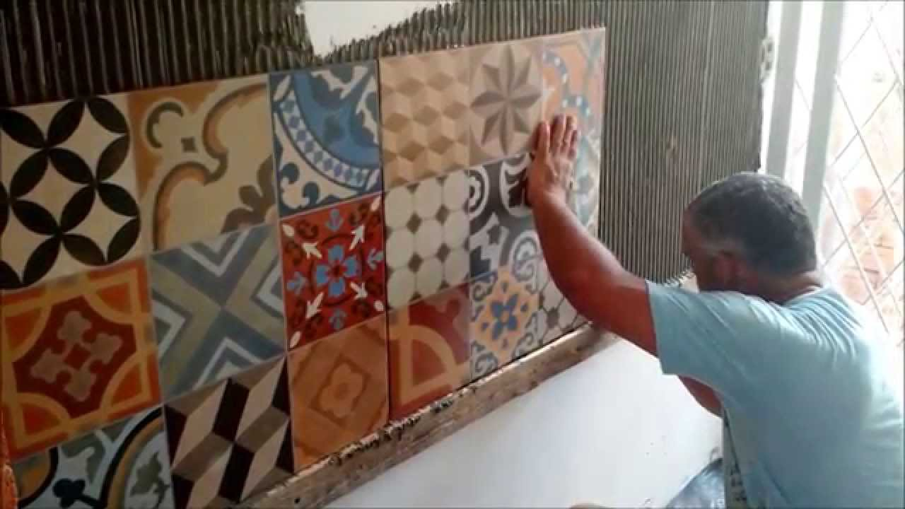 Como colocar porcelanato na parede porcelanato estilo for Mosaicos de azulejos en paredes