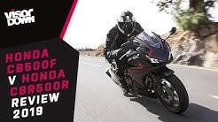 Honda CBR500R v Honda CB500F Review 2019