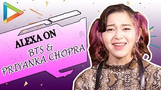 Korean artist AleXa (Alex Christine) talks about BTS, BlackPink, her Love for Priyanka Chopra | KPOP