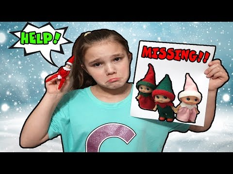 Mean Elf On The Shelf Shrunk My Elf! The Elf Babies Are Missing Save The Elf On The Shelf