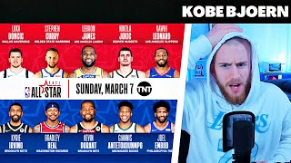 KobeBjoern reagiert auf All Star Starter West & East | Doncic vor Lillard | Reaktion