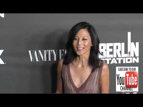 Tamlyn Tomita at the Premiere Of EPIX's Berlin Station at Milk Studios in Hollywood