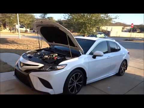 2018 Toyota Camry 2.5L I-4 Oil Change and maintenance reset FYI