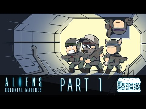 Hungry Gamers VS Colonial Marines Episode 1