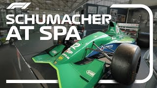 Schumacher At Spa: The Cars That Carried Him To Glory