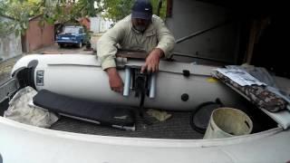 Тюнинг ПВХ Лодки. Как Установить УКБ.