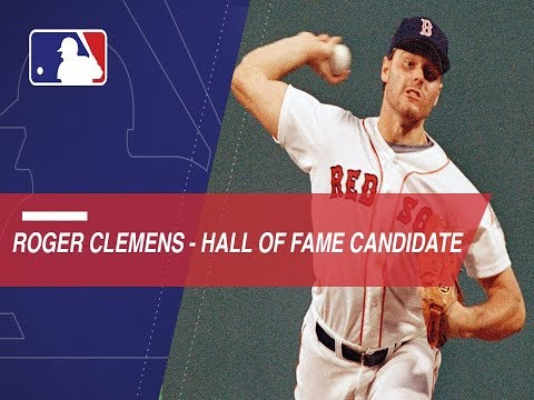 Roger Clemens is a 2018 HOF candidate