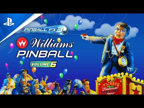 Pinball FX3 – Williams Pinball Volume 6 Launch Trailer | PS4