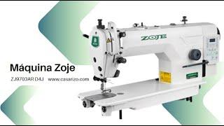 Máquina recta electrónica  Zoje ZJ9703AR D4J :: Casa Rizo