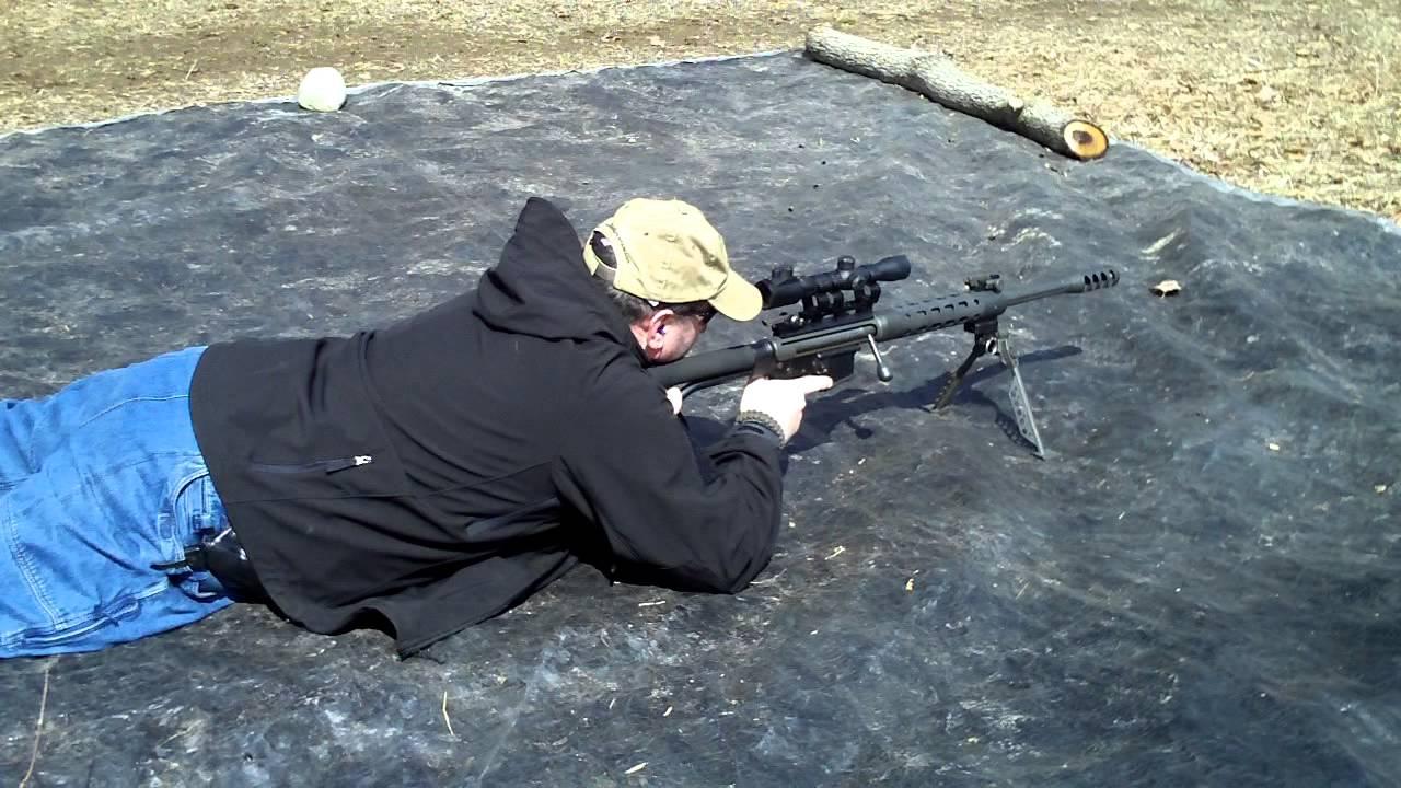 Turn your AR-15 into a  50 Cal BMG! HD