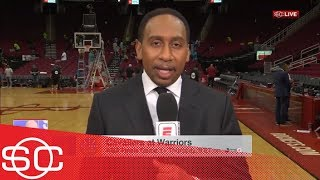 Stephen A.: 'I'd be shocked' if Cavaliers win more than one game vs. Warriors | SportsCenter | ESPN thumbnail
