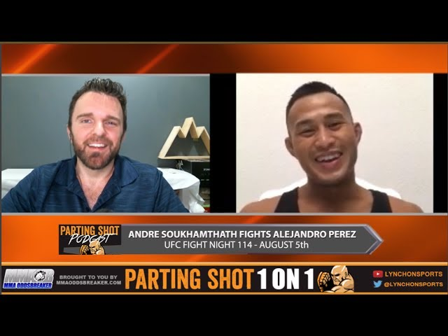 Andre Soukhamthath says he's invested heavily in his UFC Mexico training camp