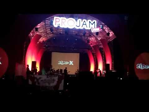 OPENING TIPE-X WE ARE X FRIENDS PROJAM fest di MAKODAM V BRAWIJAYA SURABAYA.