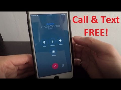 How To Call And Text Unlimited For FREE On IPhone! 2020
