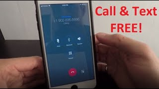 How To Call and Text Unlimited for FREE on iPhone! 2020 screenshot 1