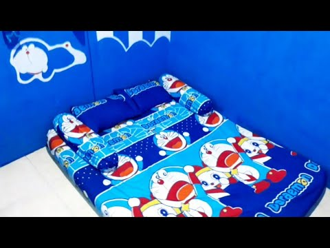 Cara Mudah Mempercantik Kamar Tidur Anak Dengan Aksesoris Serba Doraemon Youtube