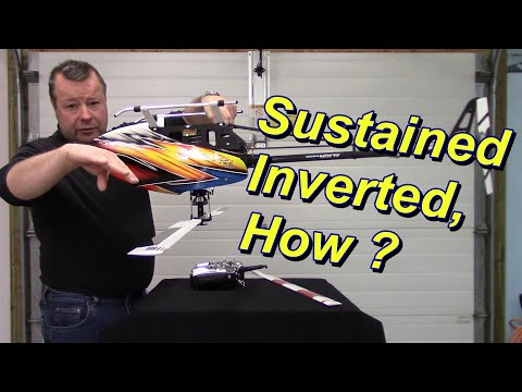 How Do RC Helicopters Fly Upside Down