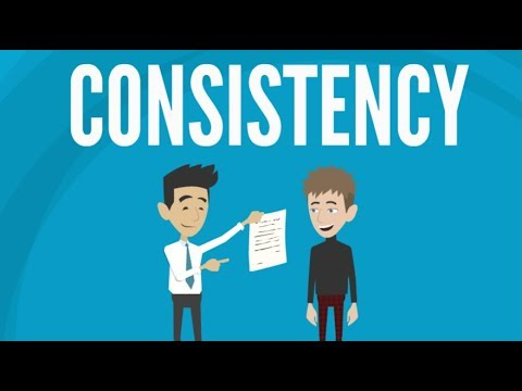 The Consistency Principle  The Six Principles of Influence