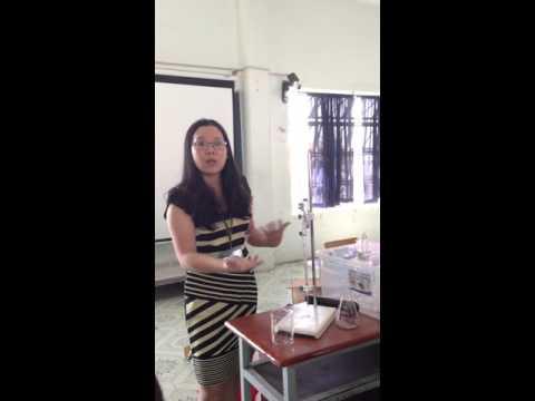 Kỹ thuật phòng thí nghiệm - Cách đổ nước cất vào buret TNMT05