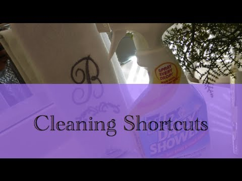 House Cleaning Shortcuts