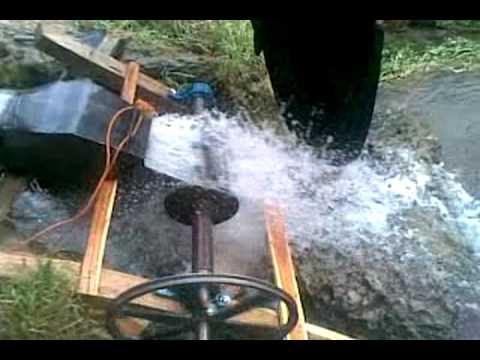 cross flow turbine