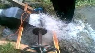 cross flow turbine