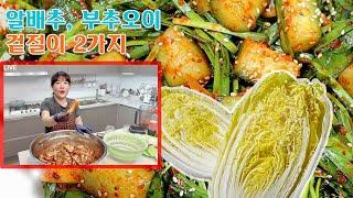 【생방송예고】 알배추 겉절이와 오이부추 겉절이 (3월 …