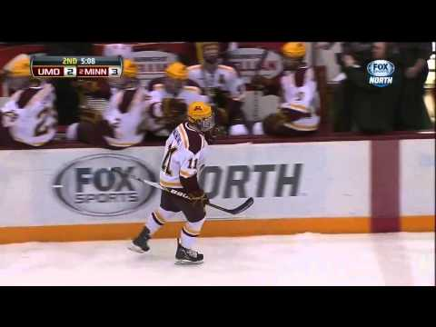 Gophers' Sam Warning Dangle Goal vs. MN-Duluth (SportsCenter Top Play)