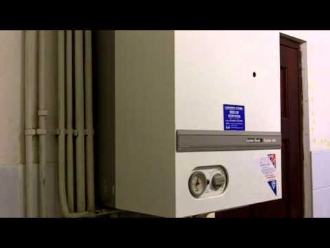 Noisy boiler - Explosive ignition.