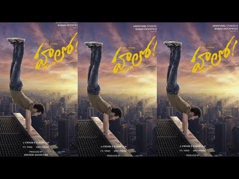 Akhil Akkineni's New Film Titled Hello    Vikram Kumar   Friday Poster
