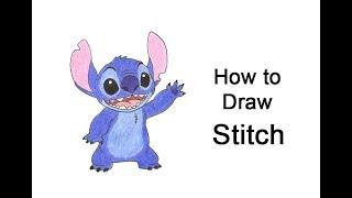 How to Draw Stitch (Full Body)