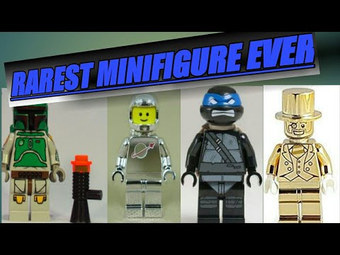 Rarest LEGO Minifigure in the WORLD!!! - YouTube