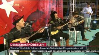 Dombra Eseri ile Bilinen Arslanbek Sultanbekov Konya