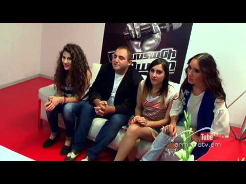 Syuzanna Melqonyan,Left Outside Alone - The Voice Of Armenia - Blind Auditions - Season 2