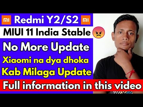 Redmi Y2 MIUI 11😡 India Stable Update Information By Technical Rkp