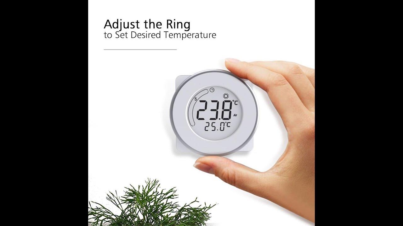 Программируемый терморегулятор C18 (Castle Ring) Обзор и подключение