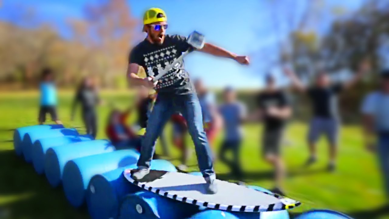 SUMMERTIME BOREDOM - Barrel Surfing! // ScottDW - SUMMERTIME BOREDOM - Barrel Surfing! // ScottDW