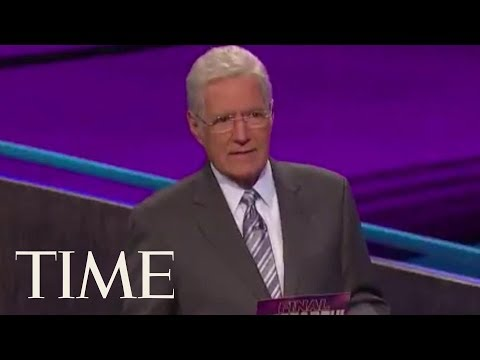Rachel Lutzker - Alex Trebek Gets Emotional Over Contestants Answer