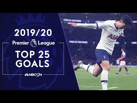 Top 25 Premier League goals of the 2019-2020 season | NBC Sports