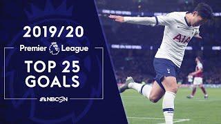 Top 25 Premier League goals of the 20192020 season | NBC Sports