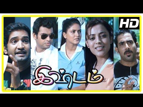 Ishtam Movie Scenes   Vimal and Nisha recollect their past   Vimal misunderstands Nisha   Santhanam