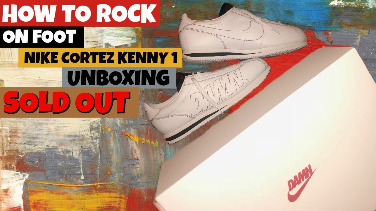 online store cbf64 67e8a HOW TO ROCK Cortez Kenny 1 ON FOOT